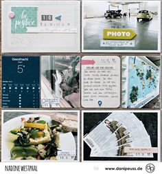 Das Oktober Project Life Kit im Einsatz bei Nadine Westphal | für www.danipeuss.de | #danipeuss #scrapbooking #projectlife #basteln