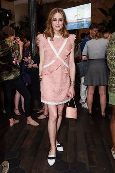 Olivia Palermo Has the Chic (and Comfy!) Answer to the Summer Party Shoe - June 2017