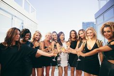 Having a photoshoot at the bachelorette party is such a nice idea! // Photoshoot at GN's Bachelorette Party ‹ GN & Ian