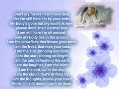 For my daughter in Heaven