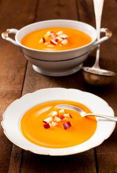 Kürbis-Karotten-Suppe