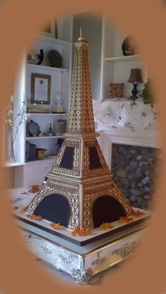 Eiffel Tower Groom's Cake