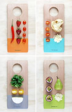 New handcrafted timber serving boards from Melbourne basedTreehorn Design. Photos bySophia Duhrin.