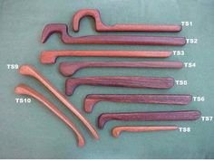 Hand crafted custom pottery tools... by:       hand crafted pottery tools by  Chris Henley