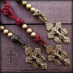 Rosary Beads for Sale, Men's Rosaries, Strong Rosaries, Military Rosary Rugged Rosaries® Paracord Rosary, 550 Paracord, Holy Rosary, Rosary Catholic, Beads For Sale, Mens Fashion Blog, Rosary Beads, Beaded Bracelets, Necklaces