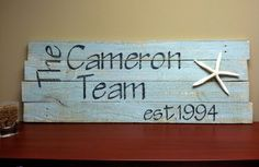 Check out what Coastal Crate made us! They make homemade beach-inspired picture frames, furniture and gifts. If you love the distressed look as much as we do, check out their Facebook page, email them at Coastalcrate@gmail.com, or call them at 910-686-7910. Thank you Jasmine and Ember!