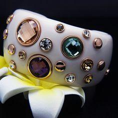 Cheap bracelet jewelry making, Buy Quality jewelry clutch directly from China jewelry bracelet gold Suppliers: Italina gold bangles Austrian Crystal charm bracelets bangles brazaletes pulseras mujer lady cuff bracelet fashion acces