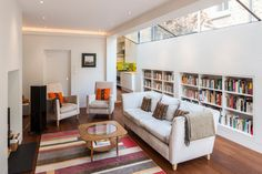 Extension, Queen's Park - contemporary - Living Room - Other Metro - Jones Associates Architects