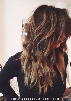 18 Freshest Long Layered Hairstyles with Bangs Freshest Long Layered Hairstyles with Bangs: Face-Framing & Fabulously Flattering High-Fashion Hair! Curly Hair Styles, Long Curly Hair, Long Hair Cuts, Medium Hair Styles, Hair Medium, Layered Hair With Bangs, Long Layered Haircuts, Layered Hairstyles, Long Layered Curly Hair