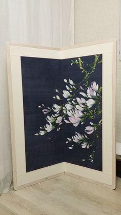 천아트 화담갤러리 Ribbon Yarn, One Stroke Painting, Pure Silk Sarees, Fabric Painting, Printing On Fabric, Hand Painted, Tapestry, Textiles, Embroidery