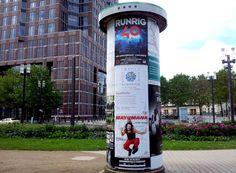 #Litfaßsäule Frankfurt a.M.