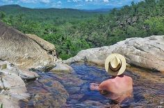 Relax in a natural infinity pool. 21 Damn Good Reasons To Explore Far North Queensland Australia Tourism, Queensland Australia, Cairns Queensland, Australia Trip, Places To Travel, Places To Visit, Daintree Rainforest, Airlie Beach, Tropical