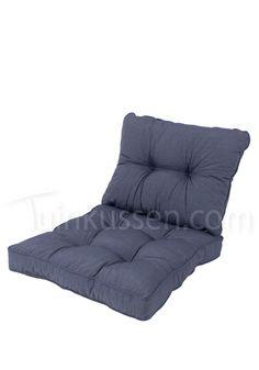 Loungekussen zit- en ruggedeelte 60x60 - Kettler Jeans
