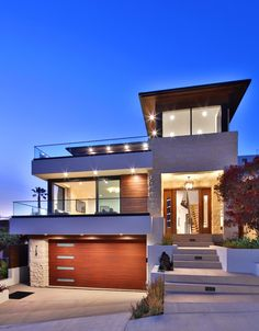 39 The Hidden Treasure Of Dream House Exterior Mansions Luxury Entrance 55 - bdarop Duplex House Design, Modern House Design, Luxury Modern Homes, California Homes, Southern California, Dream House Exterior, Modern House Plans, Modern Houses, Cool House Designs