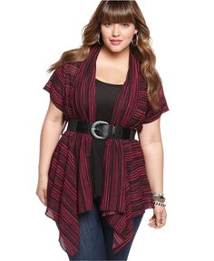 L8ter Plus Size Cardigan for those cute and casual days