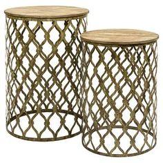 2-Piece Maridell Nesting Table Set