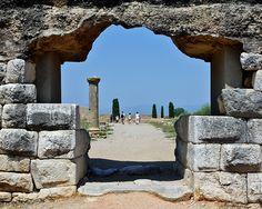 Empúries, greco-roman ruins, Costa Brava , Catalonia