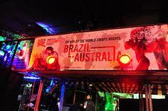 Smirnoff Nightlife Exchange project 2010 when Brazil and Australia Swapped Nights, Sydney.