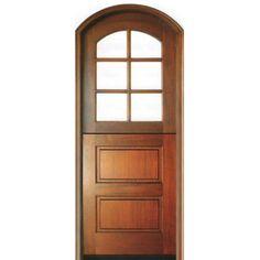 DSA Doors 6LT-2HP Dutch Door E-01B 8'-0