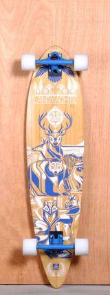 "Landyachtz 41"" Fiberglass Totem Longboard Complete   I want this!! I need a pintail..."