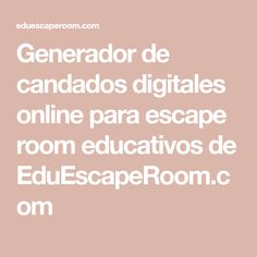Escape Room, Tatoos, Monitor, Teacher, Locks, Learning Spanish, Fle, Professor
