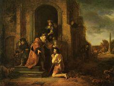 Govert Flinck: El hijo pródigo.