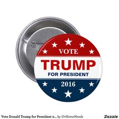 Vote Donald Trump for President 2016 Campaign