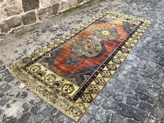 Your place to buy and sell all things handmade Boho Decor, Bohemian Rug, Turkey Colors, Rugs On Carpet, Carpets, Hallway Rug, Small Rugs, Main Colors, Rug Runner