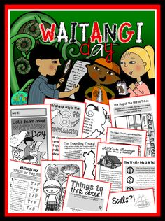 Did you know that there are actually 9 copies of the Treaty of Waitangi? They travelled the country after the initial signing in Waitangi on the 6th February 1840 collecting more than 500 signatures!  This 48 page mini booklet pack is designed to support your classroom discussions about the Treaty of Waitangi. It was created to address the lack of easy to use resources for primary aged Kiwi kids – you can mix and match from the large selection of pages to best meet the needs of your class.