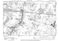 Old map of Orpington, St Mary Cray, and parts of St Paul's Cray and Eynsford in 1910 Old Maps, Family History, Growing Up, Vintage World Maps, Diagram, Mary, Antique Maps, Genealogy, Old Cards