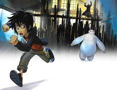 Big Hero Baymax: I am not fast. Hiro: Yeah, no kidding! Big Hero 6 2, Hiro Big Hero 6, Disney Magic, Disney Art, Disney Stuff, Walt Disney, Big Hero 6 Characters, Big Hero 6 Tadashi, Best Disney Animated Movies