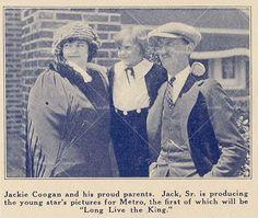 Jackie Coogan & his parents