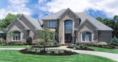 The beautiful exterior of a custom-built home by Zicka Homes in #Cincinnati. #housetrends http://www.housetrends.com/specialist/Zicka-Homes