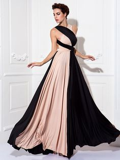 Sheath/Column Floor-length Knit Convertible Dress | LightInTheBox