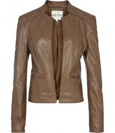 Reiss Milly Leather Jacket US$660