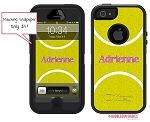 Simply My Designs - Personalized Tennis Ball Defender Case or  Monogrammed Otterbox Defender Case  for iPhone 4, iPhone 5 and Samsung Galaxy 4 - $75