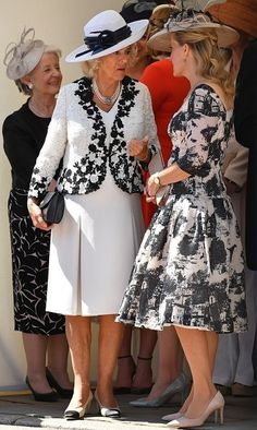 The Royal Family attend the Order of the Garter Service