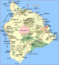 map of kauai towns