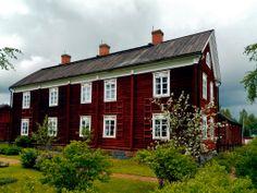 Farmstead House Museum Yli-Laurosela. Ilmajoki Finland.