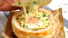 No-Washing-Up-Ham-Egg-Cheese-Bread-Bowls