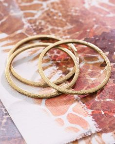 Trend Trilogy Bangles (3 in set) | Jewelry by Silpada Designs