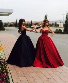 Long Prom Dress ball gown black quinceanera dresses