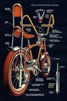 Dragster Bicycle Old School