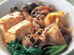 清水 信子 さんの「肉豆腐」。煮くずれしにくい焼き豆腐を使って見た目も味も上品に。 NHK「きょうの料理」で放送された料理レシピや献立が満載。