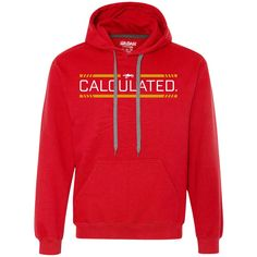 Calculated - Heavyweight Pullover Fleece Sweatshirt