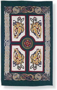 Celtic Celebrations Linen Tea Towel