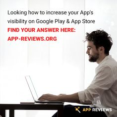 Looking how to increase your App's visibility on Google Play & App Store?  Find your answer here: App-Reviews.org #appreviews #app #promotion #ios #android #mobile #mobilemarketing #appmarketing #lifehack #appdevelopment #playmarket #appstore #users #mobileapps