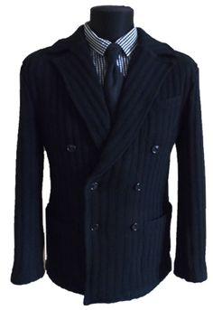 Knitted jacket. Трикотажный пиджак. www.ipryanik.ru