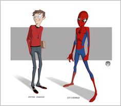 SPIDERMAN - Peter Parker By Kizer