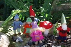 Rhythm & Rhyme: Wednesday Craft Group - Wood and Wire Gnomes